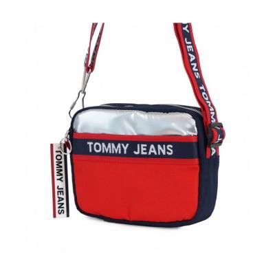 【トミーヒルフィガー】 TOMMY HILFIGER AW0AW08301 ショルダーバッグ ユニセックス ネイビー×レッド F TOMMY HILFIGER