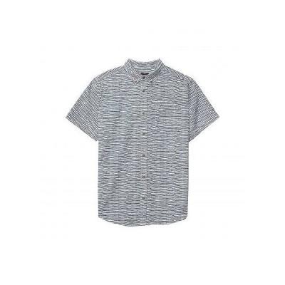 Prana プラナ メンズ 男性用 ファッション ボタンシャツ Zuckerfield Shirt - White