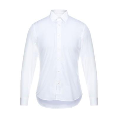 BURBERRY シャツ ホワイト 37 コットン 97% / ポリウレタン 3% シャツ