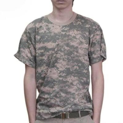 USA ミリタリーTシャツ 迷彩 ACUデジタル柄 メンズ ロスコ アメリカ直輸入 ROTHCO CAMO T-SHIRTS 米軍 レプリカ仕様