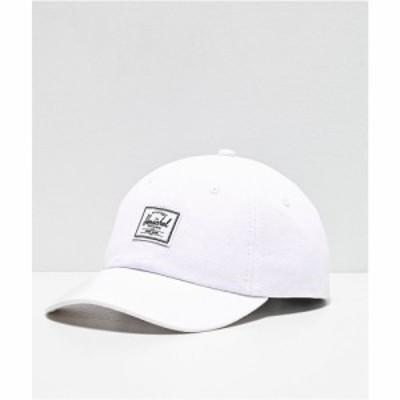 ハーシェル サプライ HERSCHEL SUPPLY レディース キャップ スナップバック 帽子 co. sylas white strapback hat White