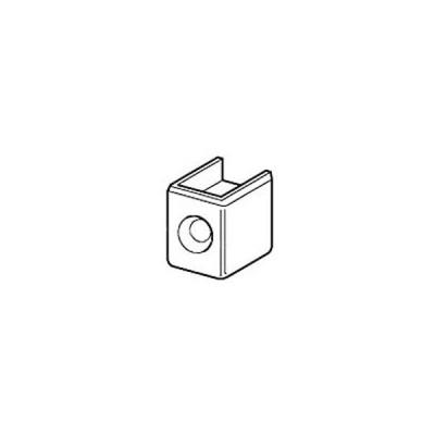 チャンネルサポート断面保護キャップ(直付け施工用)クローム 10個価格 CAS-1 ロイヤル CAS-1
