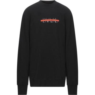 BULK メンズ スウェット・トレーナー トップス sweatshirt Black