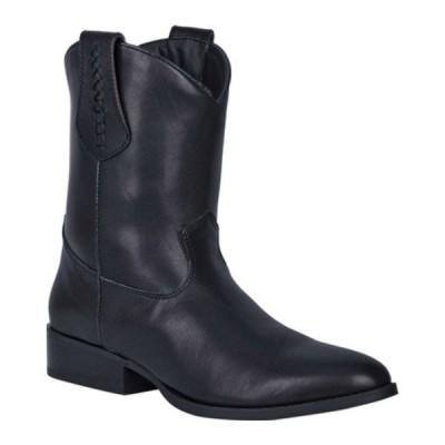 ディンゴ ブーツ&レインブーツ シューズ メンズ Lefty Pull On Western Boot DI 212 (Men's) Black Leather