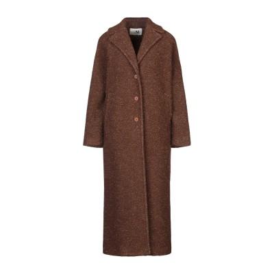 THE M.. コート ブラウン XS バージンウール 69% / ポリエステル 21% / 金属繊維 5% / ナイロン 5% コート