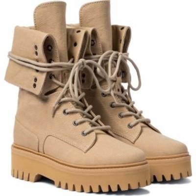 ドロシー シューマッハ Dorothee Schumacher レディース ブーツ コンバットブーツ シューズ・靴 ambition cotton canvas combat boots Wa