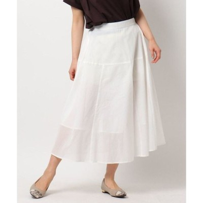 THE SHOP TK / ザ ショップ ティーケー ロハシーコットンAラインスカート/ONSTYLE/テレワーク/WEB会議