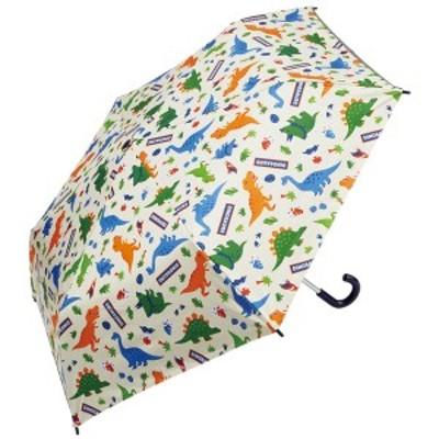 スケーター子供用 日傘 折りたたみ傘 50cm  熱中症対策 晴雨兼用 ディノサウルス UBOTSR1