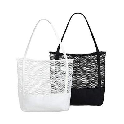 Lilyan エコバッグ 折りたたみ 買い物袋 トートバッグ 大容量キャンバス コンパクト 2枚セット おしゃれ 人気 丈夫 軽量