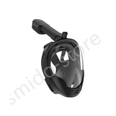新品未使用!!送料無料!!J.J. Snorkeling Glasses, Detachable Snorkel Equipment for Adult Diving Goggles, Full Face Dry Portable Waterp