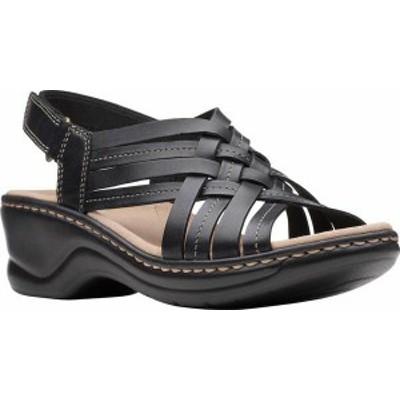 クラークス レディース サンダル シューズ Women's Clarks Lexi Carmen Slingback Sandal Black Full Grain Leather