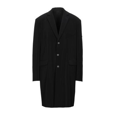 バレンシアガ BALENCIAGA コート ブラック 46 ポリエステル 89% / ポリウレタン 11% コート
