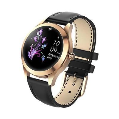 (新品) findtime Bluetooth Smartwatch for Women Calorie Counter IP68 Waterproof Sleep Monitoring Pedometer Activity Tracking for Women