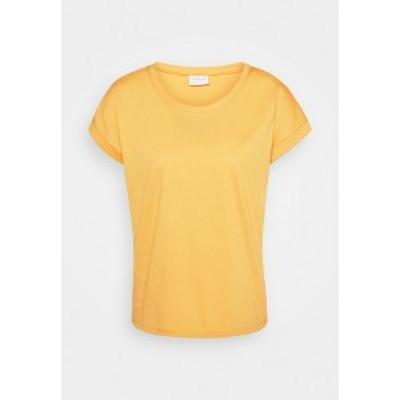ヴィラ レディース Tシャツ トップス VIDREAMERS PURE - Basic T-shirt - spicy mustard spicy mustard