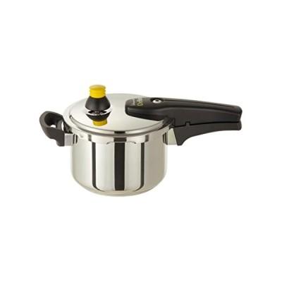 ワンダーシェフ デリッシュ 片手圧力鍋 3.0L レシピ付き 640024