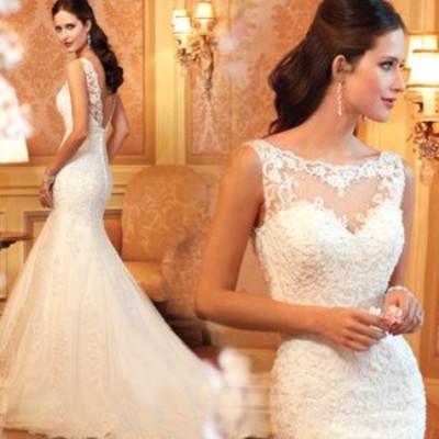 結婚式ワンピース お嫁さん 豪華な ウェディングドレス 花嫁 ドレス エンパイア ビスチェタイプ 姫系ドレス 白ドレス