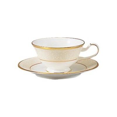 【Noritake(ノリタケ)】 WHITE PALACE  (ホワイトパレス) ティー・コーヒー碗皿