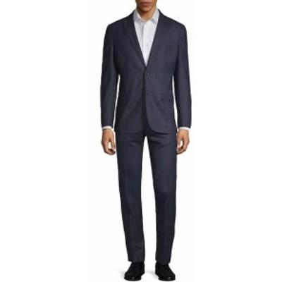 J. リンデベルク Men Clothing Hopper Wool-Blend Suit