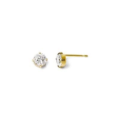 Finejewelers 14k Cz スタッド-5.0mm Earrings(海外取寄せ品)