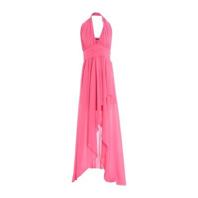 DIVEDIVINE ミニワンピース&ドレス フューシャ 46 ポリエステル 100% ミニワンピース&ドレス