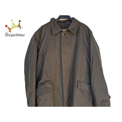 バーバリーロンドン Burberry LONDON コート サイズLL メンズ - 黒 長袖/冬  値下げ 20210307