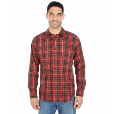 フィルソン メンズ シャツ トップス Wildwood Shirt Red/Black/Flame