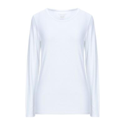 マジェスティック MAJESTIC FILATURES T シャツ ホワイト 4 レーヨン 94% / ポリウレタン 6% T シャツ