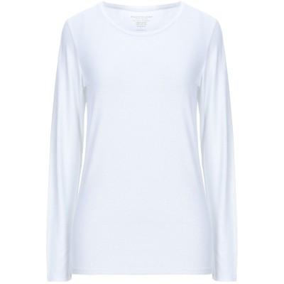 マジェスティック MAJESTIC FILATURES T シャツ ホワイト 3 レーヨン 94% / ポリウレタン 6% T シャツ