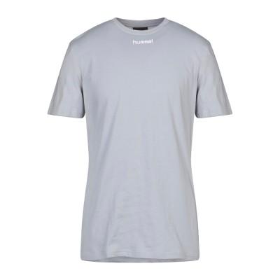ヒュンメル HUMMEL T シャツ グレー L コットン 100% T シャツ