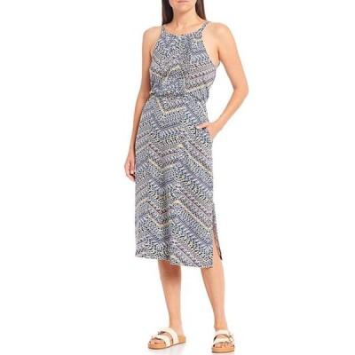 アベンチュラ レディース ワンピース トップス Mila Geometric Print Cotton Blend Jersey Dress