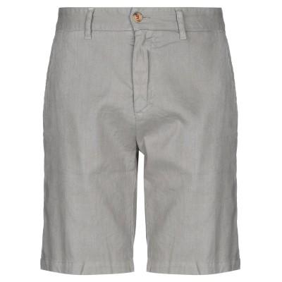 HOMEWARD CLOTHES バミューダパンツ ライトグレー 54 麻 55% / コットン 43% / ポリウレタン 2% バミューダパンツ