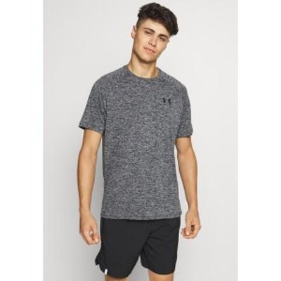 アンダーアーマー メンズ シャツ トップス TECH TEE - Basic T-shirt - black black