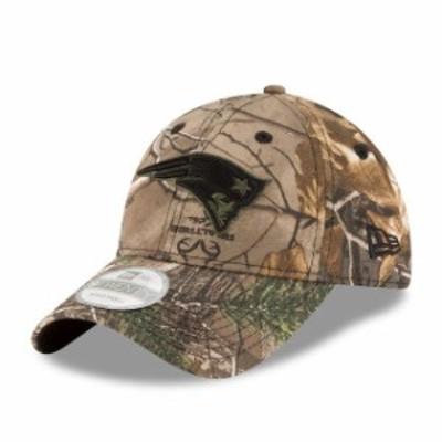 New Era ニュー エラ スポーツ用品  New Era New England Patriots Realtree Camo 9TWENTY Adjustable Hat