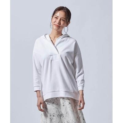 tシャツ Tシャツ ダンボール素材のフーディープルオーバー