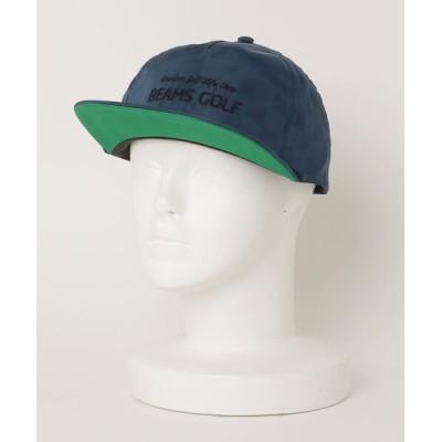 BEAMS MEN / IMPERIAL×BEAMS GOLF / エンボスロゴ キャップ MEN 帽子 > キャップ