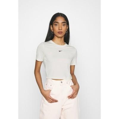 ナイキ Tシャツ レディース トップス TEE SLIM - Basic T-shirt - coconut milk