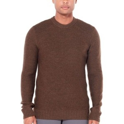 アイスブレーカー メンズ ニット&セーター アウター Waypoint Crew Sweater - Men's Bronze Heather