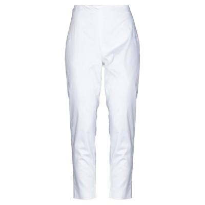 CLIPS MORE パンツ ホワイト 42 コットン 97% / ポリウレタン 3% パンツ