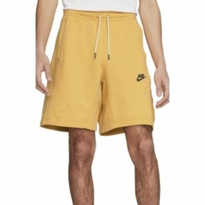 ナイキ NIKE メンズ ショートパンツ ボトムス・パンツ Sportswear Fleece Drawstring Shorts Solar Flare/Dk Smoke Grey