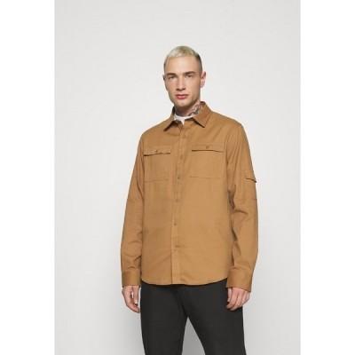 ブレーブソウル シャツ メンズ トップス SCRIPT - Shirt - sand twill