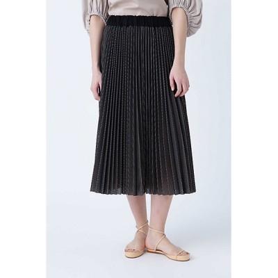<ADORE(Women)/アドーア> バイカラーメッシュスカート ブラック【三越伊勢丹/公式】