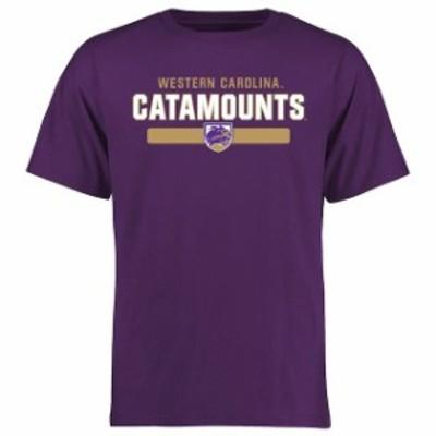Fanatics Branded ファナティクス ブランド スポーツ用品  Western Carolina Catamounts Purple Team Strong T-Shirt