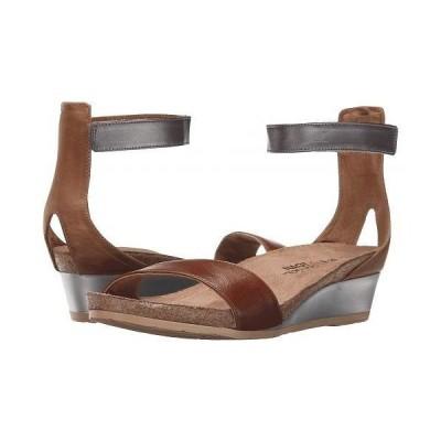 Naot ナオト レディース 女性用 シューズ 靴 サンダル Pixie - Maple Brown Leather/Latte Brown Leather/Mirror Leather