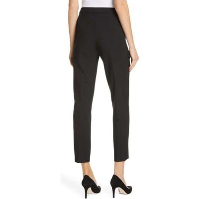 ヒューゴ ボス BOSS レディース ボトムス・パンツ Tiluna Soft Stretch Side Zip Ponte Trousers Black