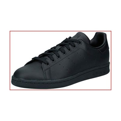 adidas Originals Men's Stan Smith Sneaker, Black/Black/Black, 11【並行輸入品】