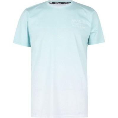 ホット テューナ Hot Tuna メンズ Tシャツ トップス Dip Dye T Shirt Mint