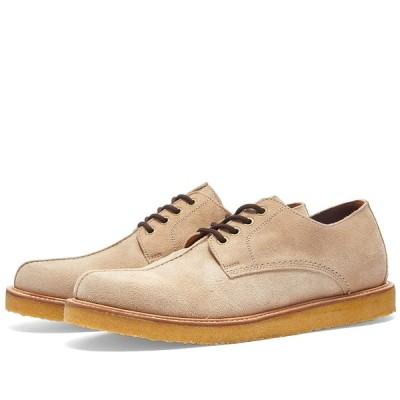 ワイルドバンチ Wild Bunch メンズ シューズ・靴 Seam Shoe Beige Suede