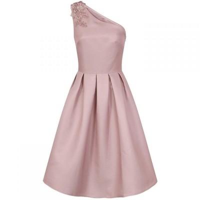チチ Chi Chi レディース パーティードレス ミドル丈 ワンピース・ドレス Aysmmetiric Midi Dress Pink