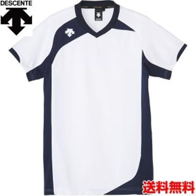 デサント(DESCENTE) 男女兼用 バレーボール用ウェア 半袖ゲームシャツ DSS-4720-WHT