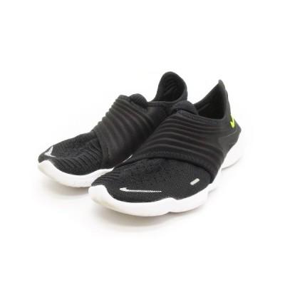 【中古】ナイキ NIKE フリー ラン フライニット 3.0 スニーカー AQ5708-001 黒 ブラック 23 靴 ■SM レディース 【ベクトル 古着】